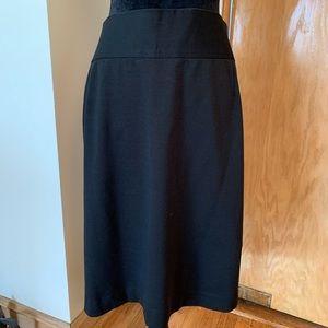 Lane Bryant black skirt!